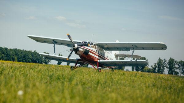 Самолет Ан-3 - Прыжки с парашютом